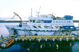 Langara island bc saltwater salmon sportfishing british for Langara fishing lodge